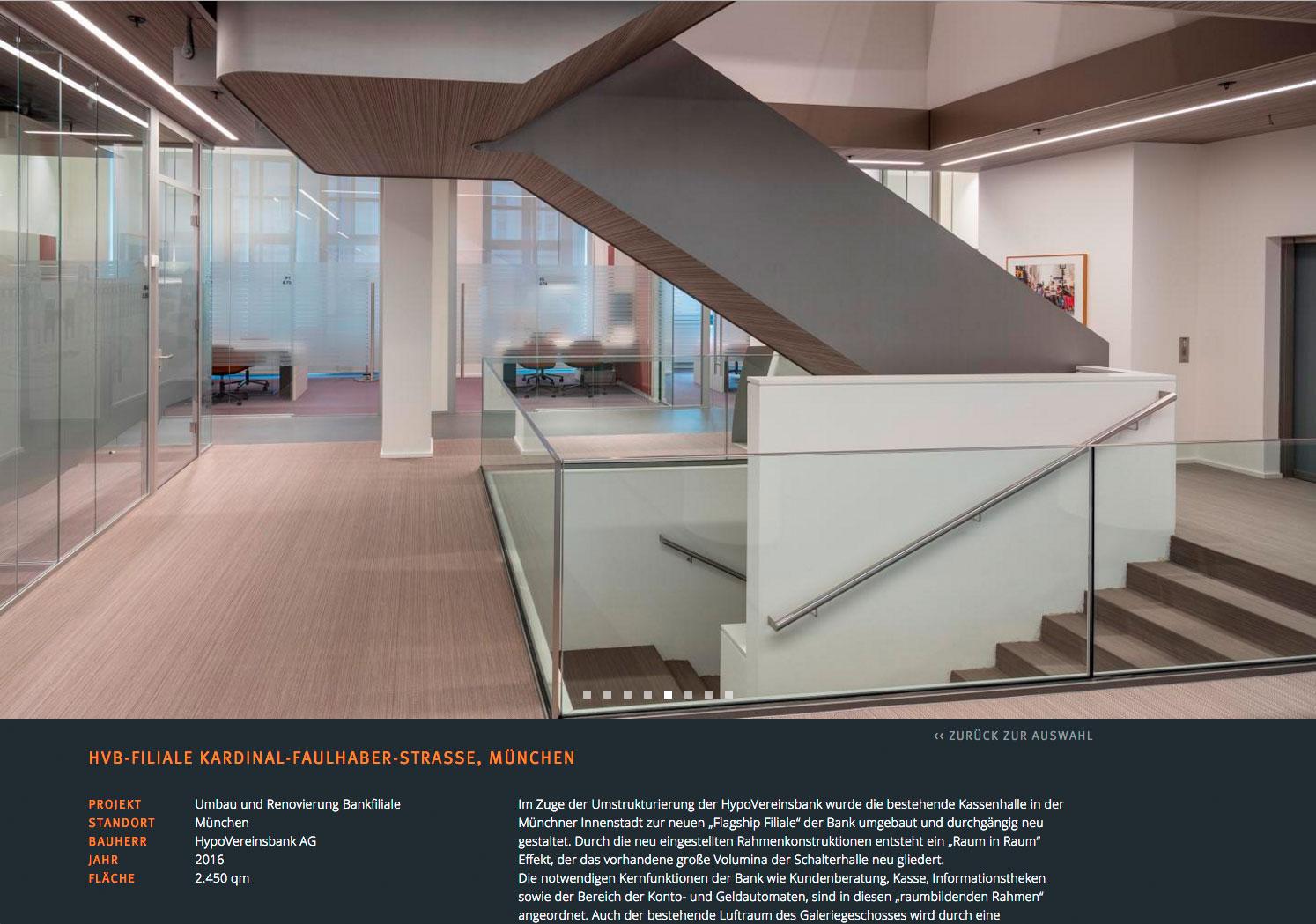 Architektur Webseite Projekte Architekten Webseite