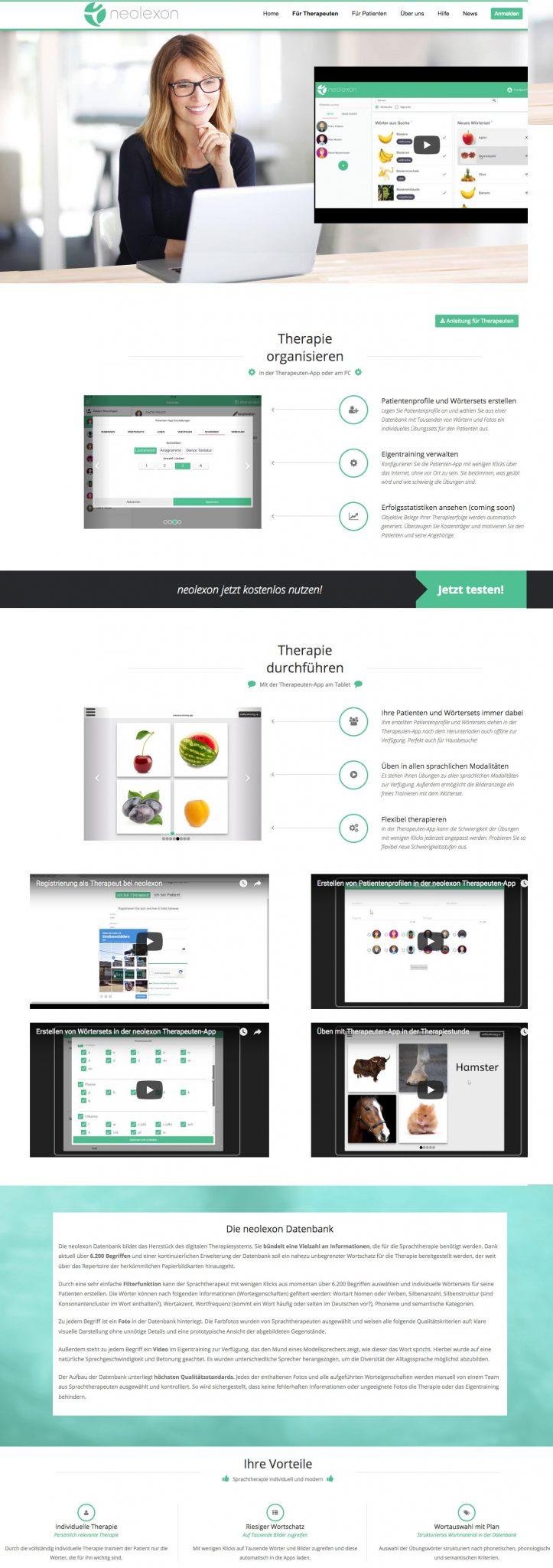 Webdesign App