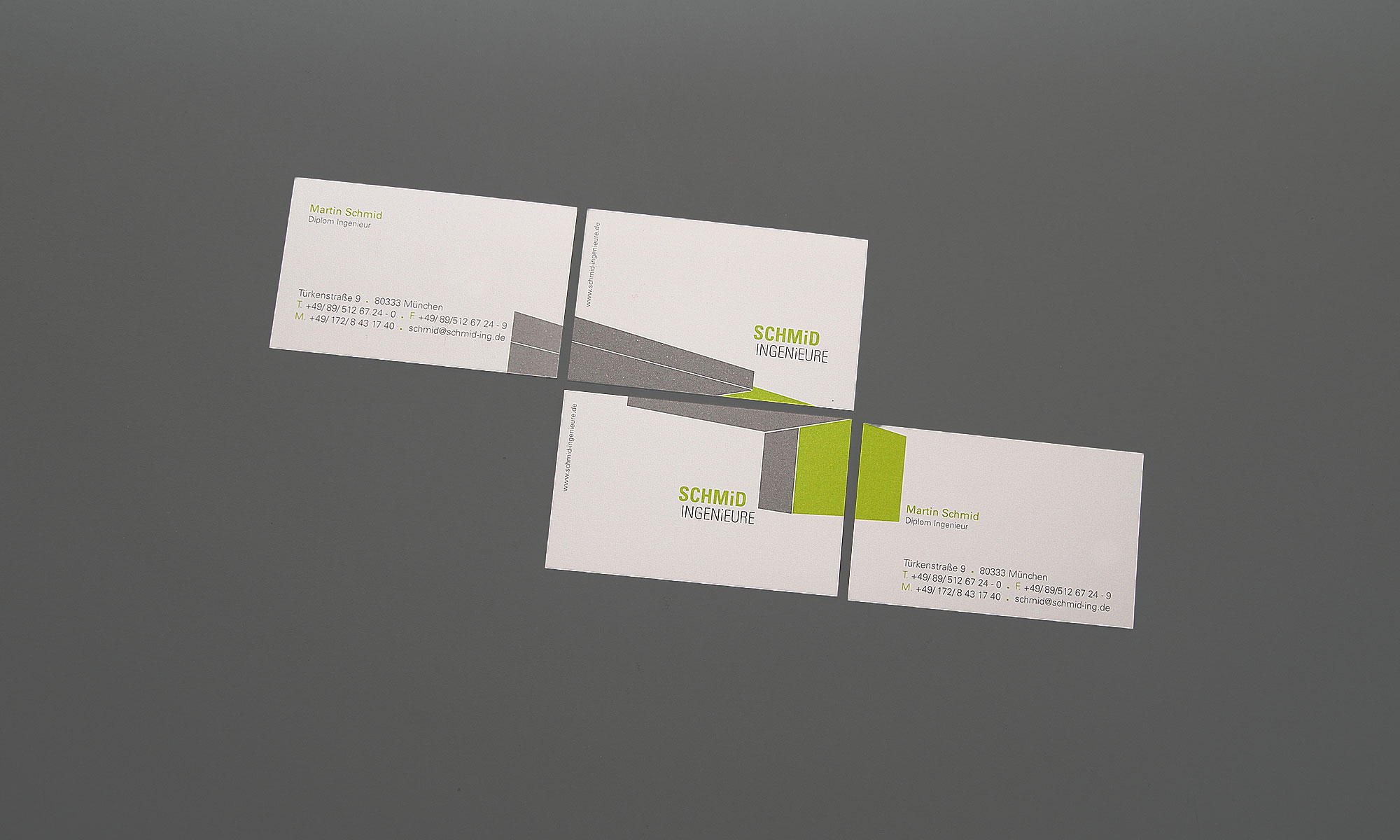Visitenkarte Design | curlee Designagentur München