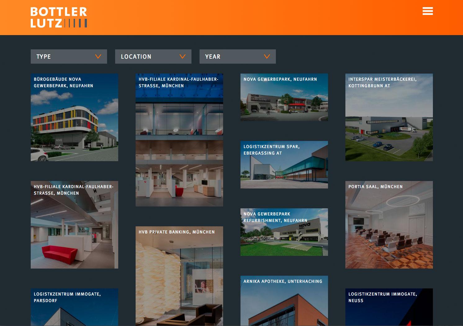Architekten_Webseite_Übersicht Architekten Webseite