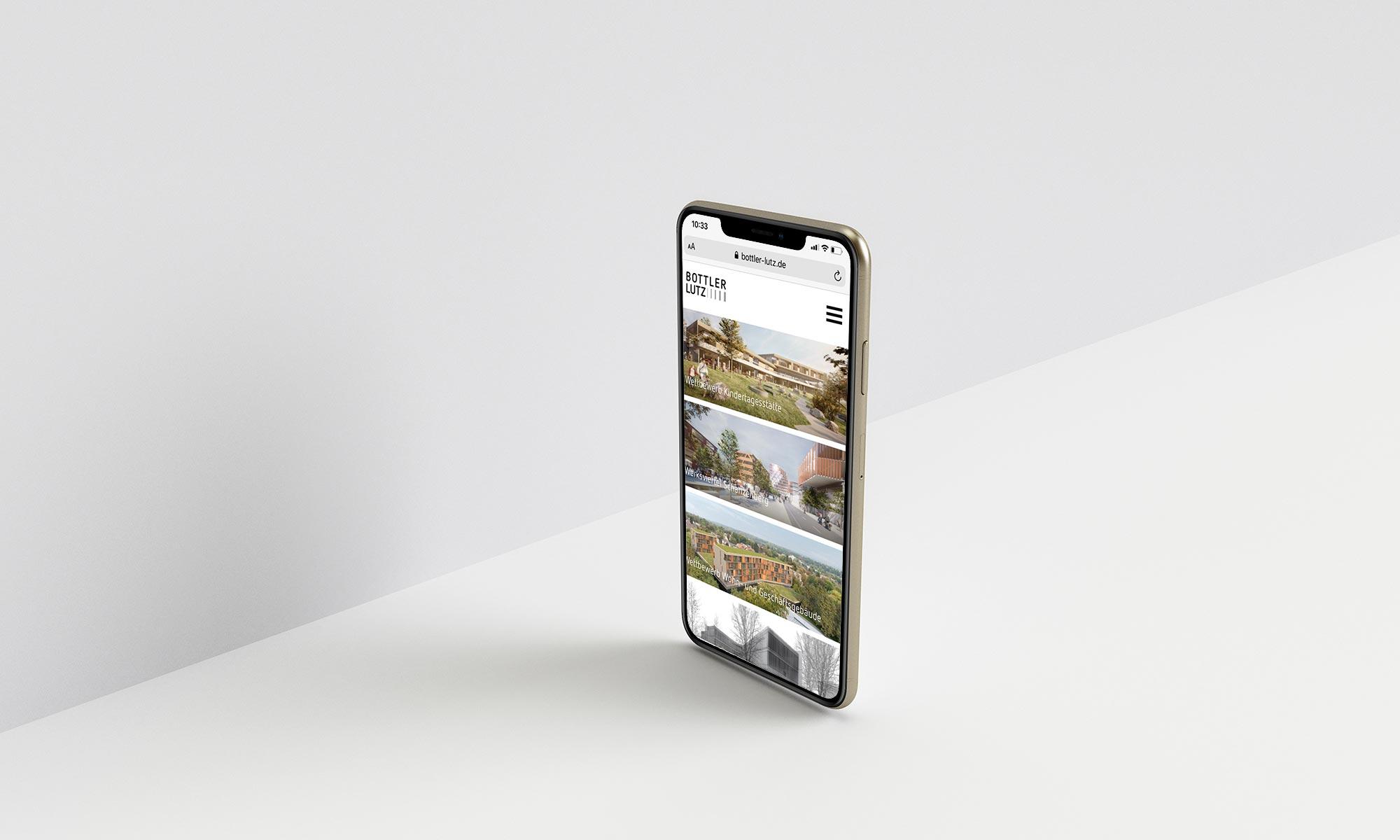 Architekten Webseite