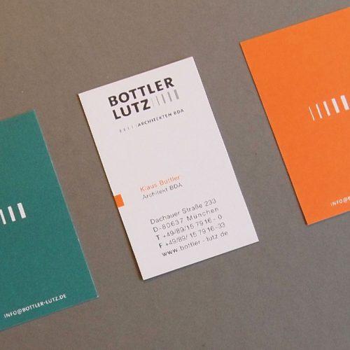 Visitenkarte Architekten