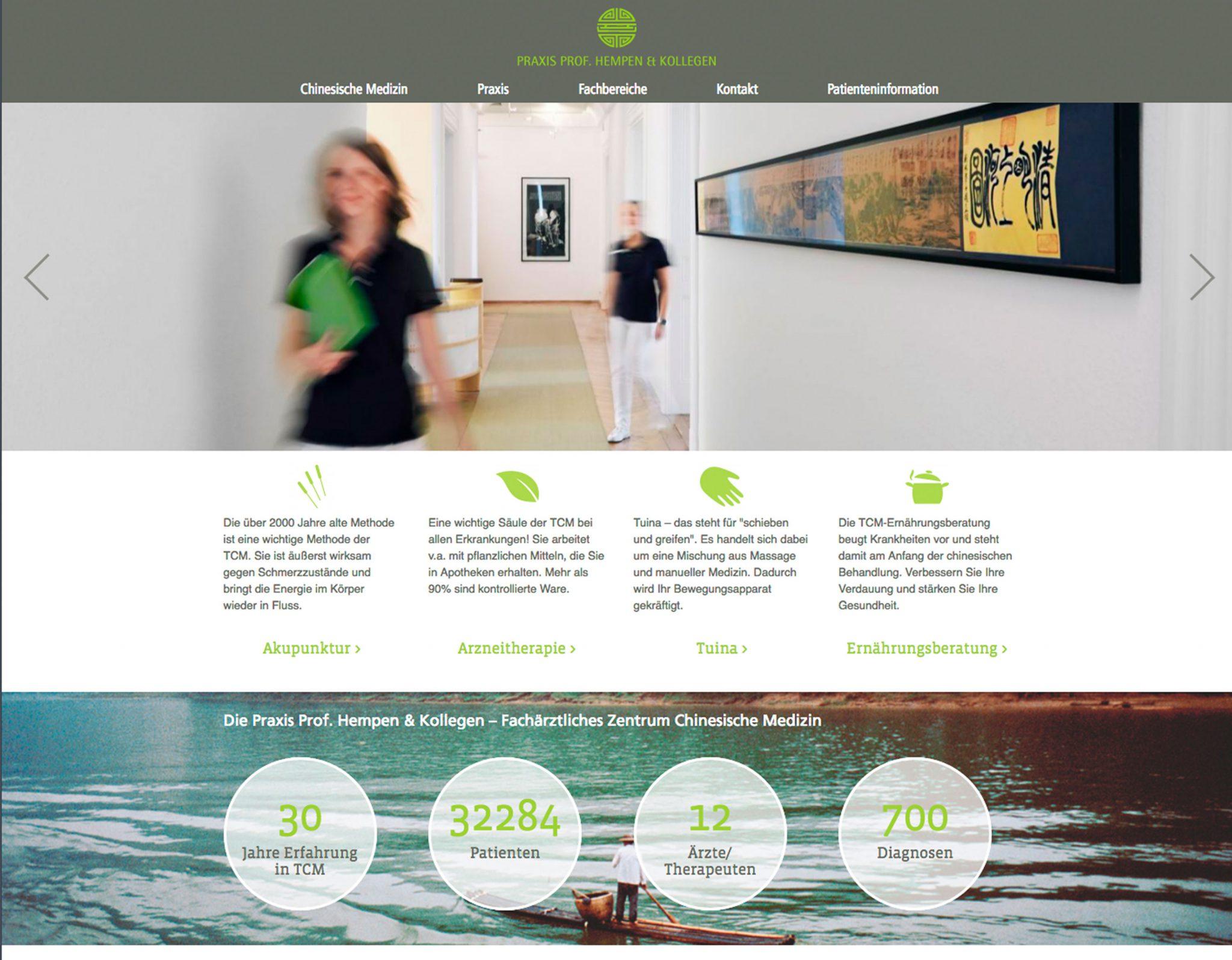 Arzt Webseite Webdesign für Ärzte