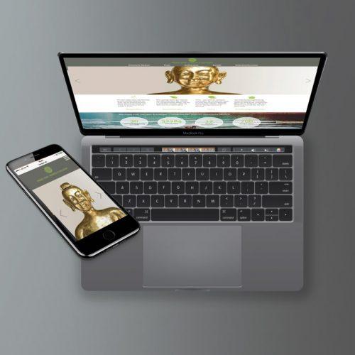 Webseite für Arztpraxis