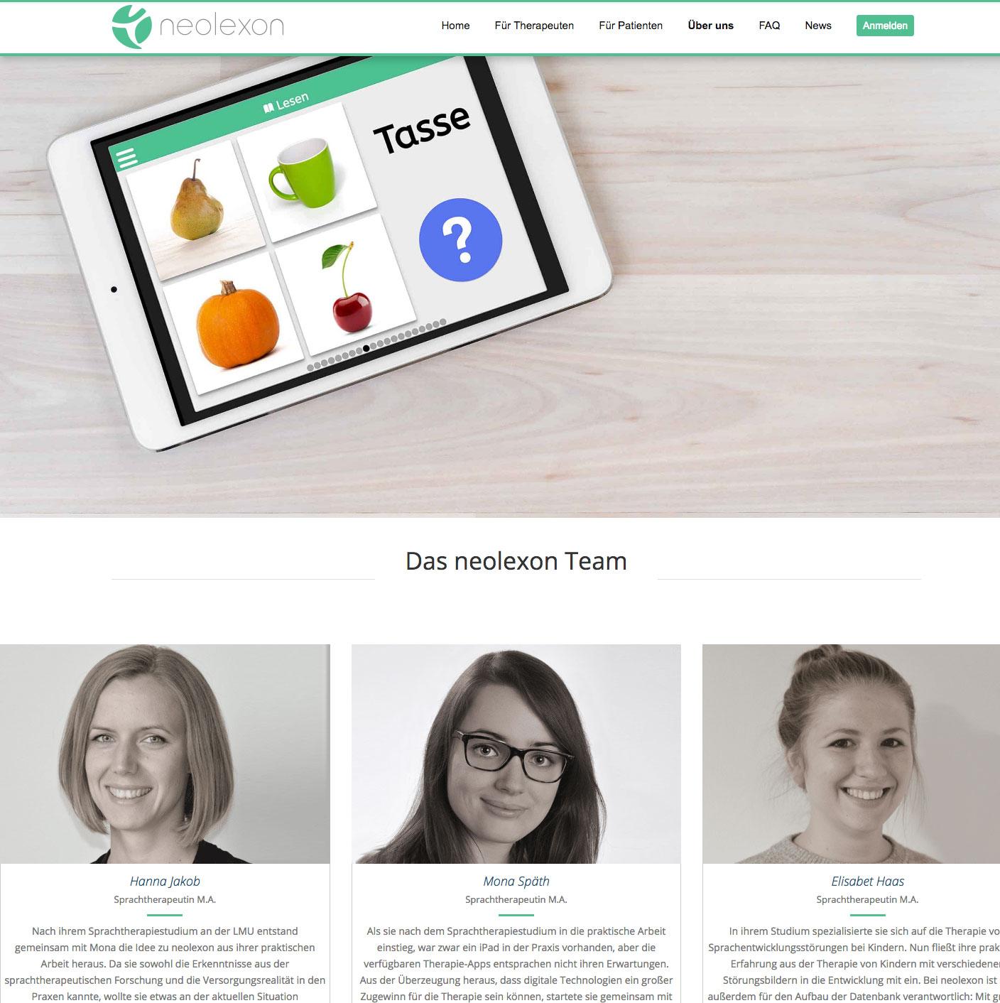 Webseite app München