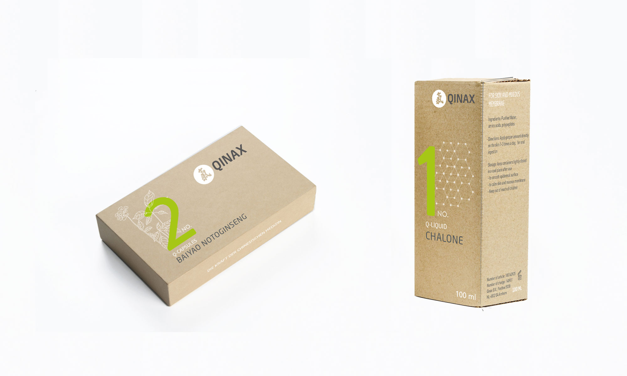 Packaging Design Schachtel