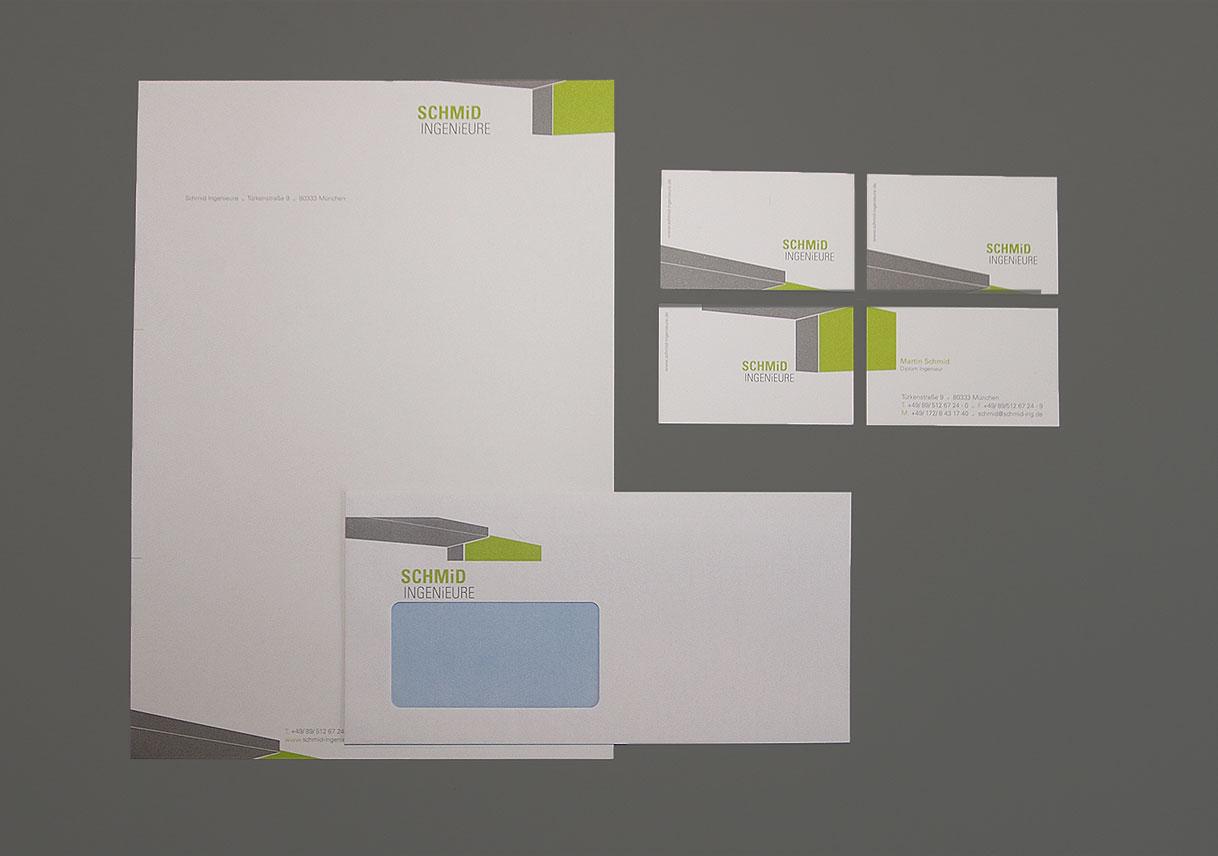 Briefpapier Design München