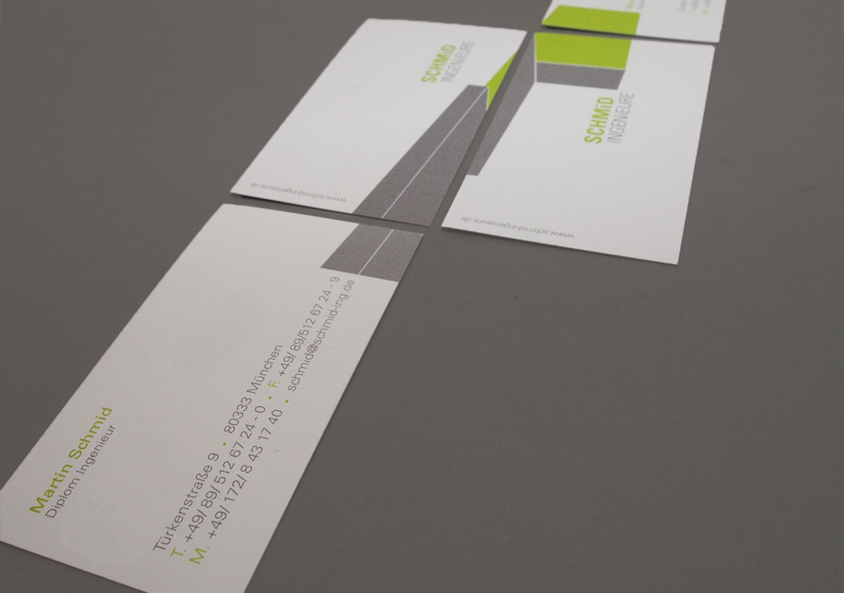 Visitenkarte Design Curlee Designagentur München