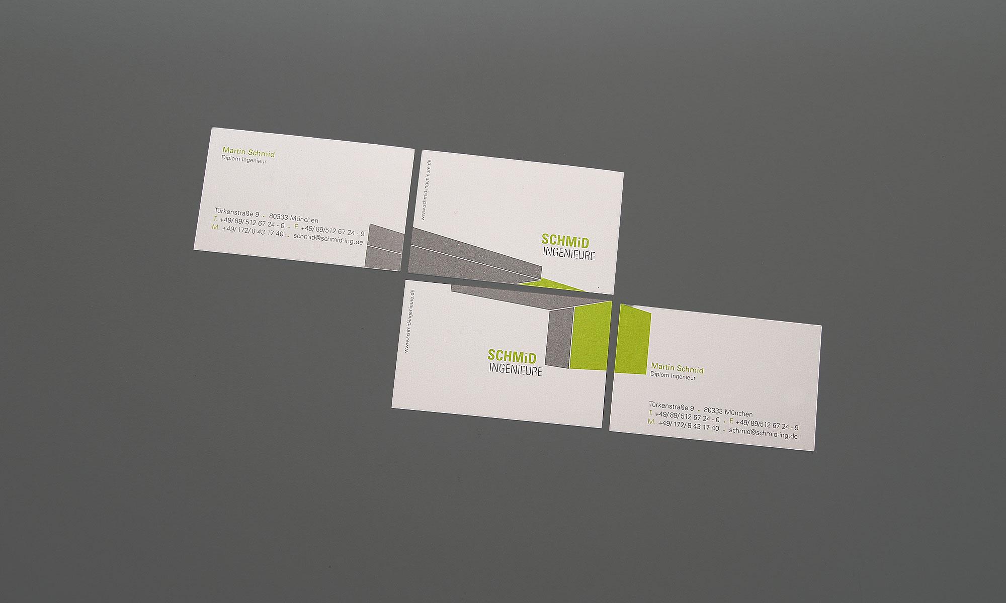 Visitenkarte Design München
