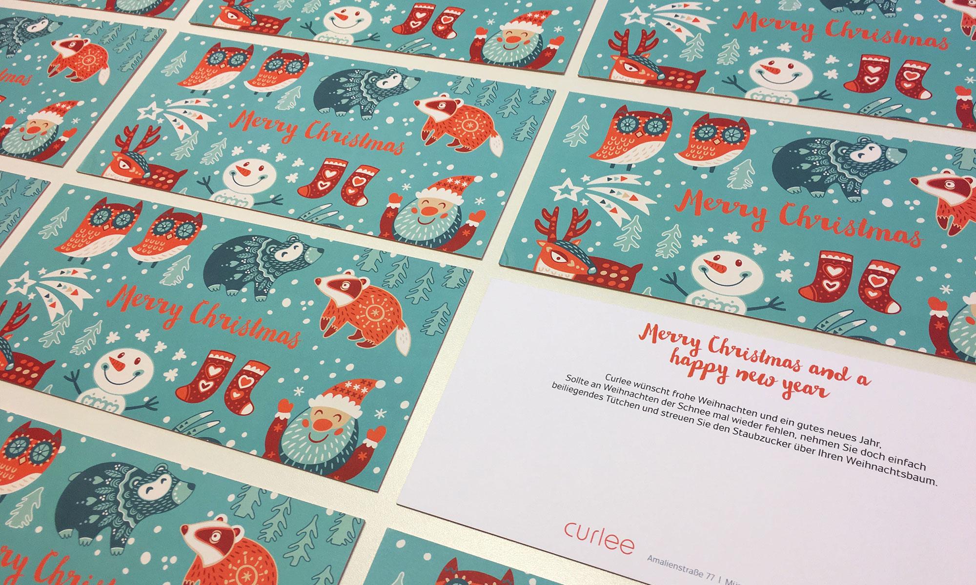 Weihnachtskarten Grafikdesigner