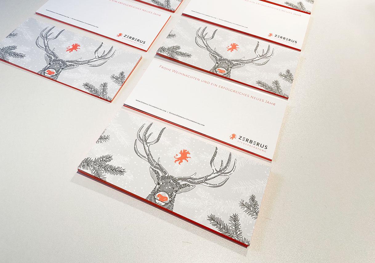 Weihnachtskarten Design