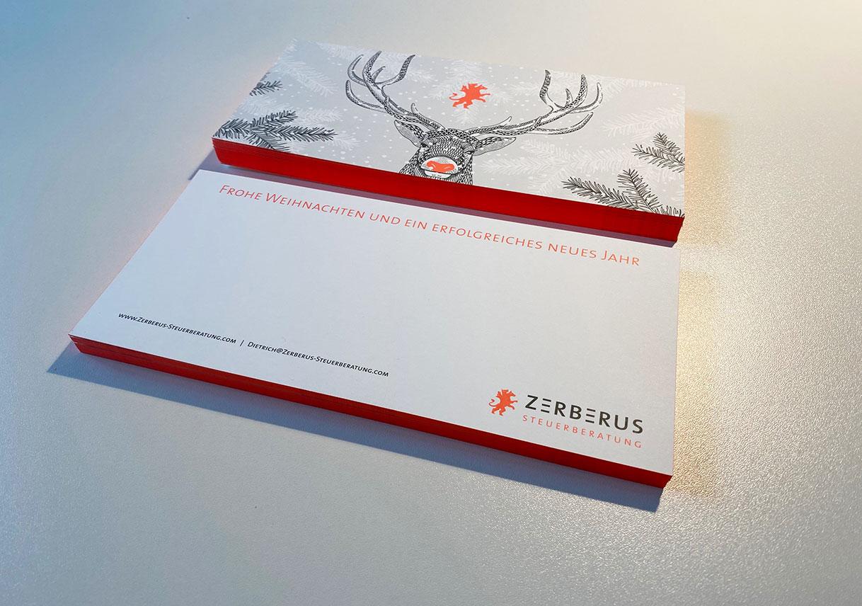 Weihnachtsarten Design München