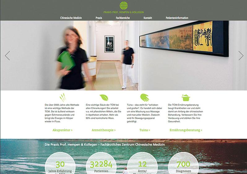 Webseite Arzt München