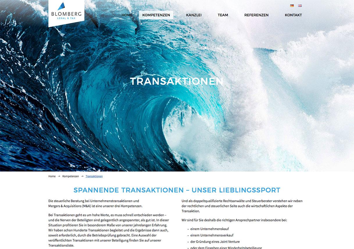 webdesign anwaelte webagentur Muenchen