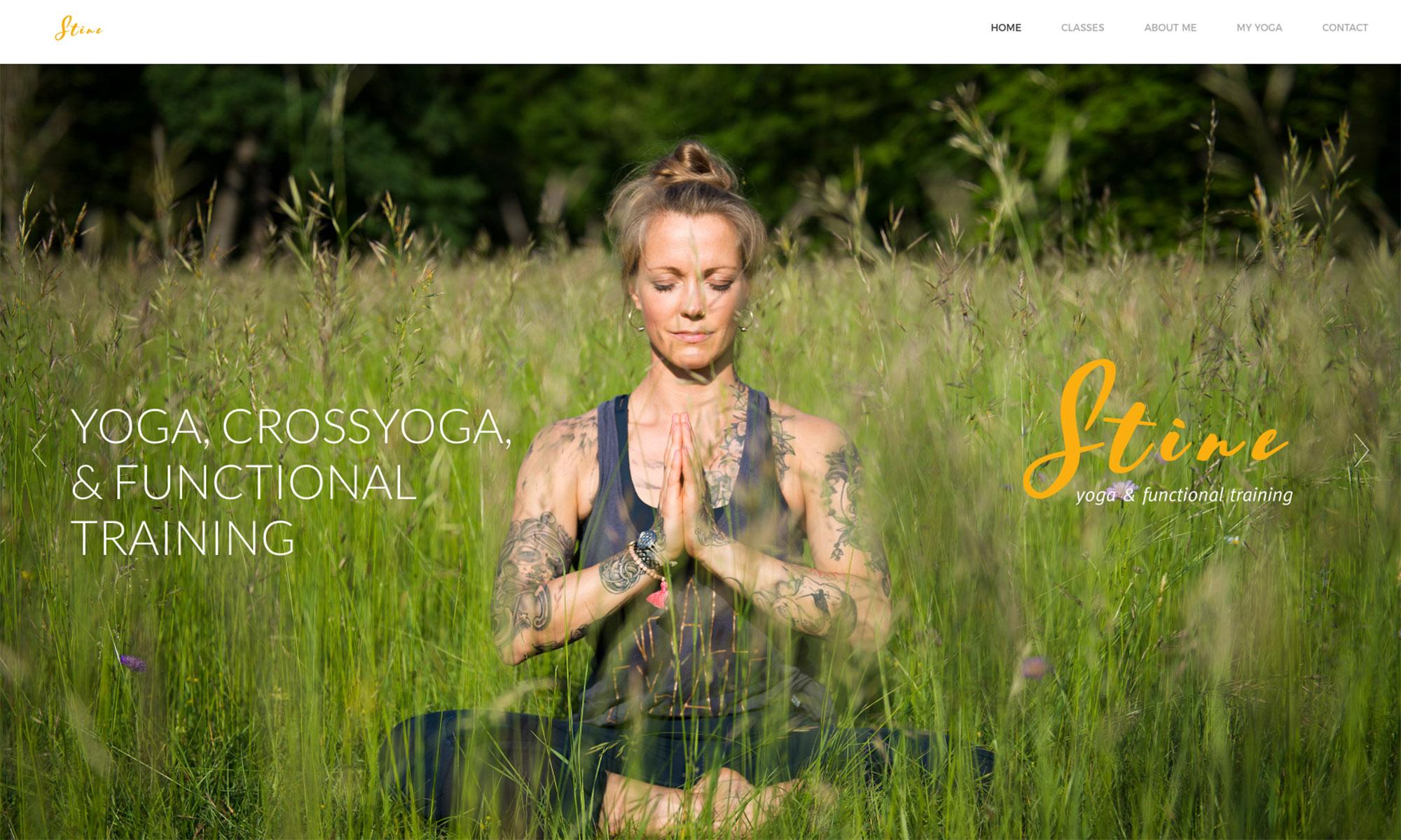 Webdesign München Yoga