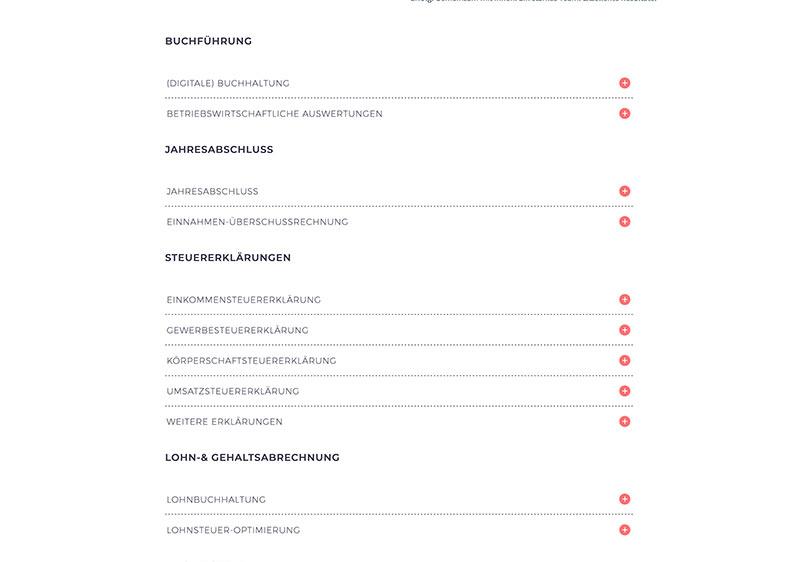 Webdesign für Steuerberater