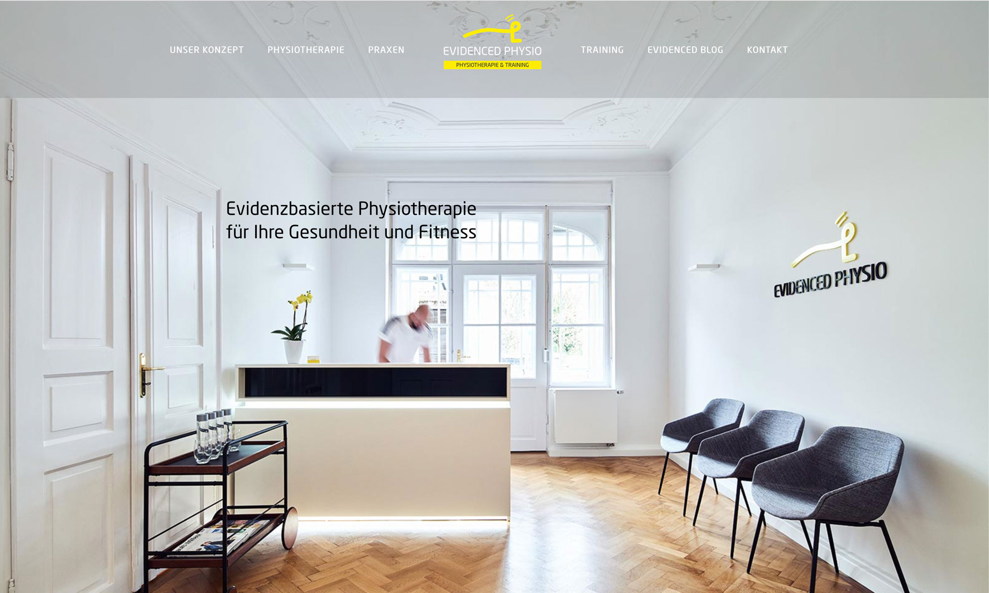 webdesign Physiotherapie